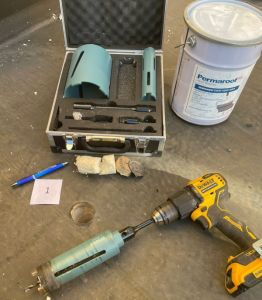 Roof survey tool kit